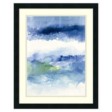 Amanti Art Midnight at the Lake Framed Wall Art