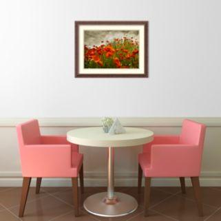 Amanti Art Bobbi's Poppies Framed Wall Art