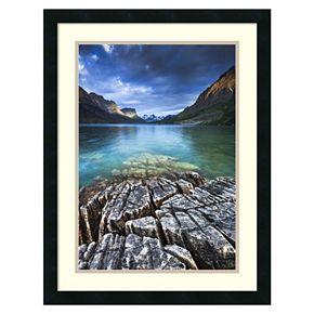 Amanti Art St. Mary Lake Glacier National Park Framed Wall Art