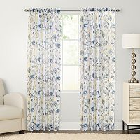 SONOMA Goods for Life™ Mabel Floral Crushed Voile Curtain