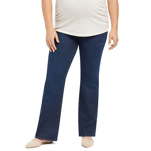 bb3d1ca0e66 Plus Size Maternity Oh Baby by Motherhood™ Secret Fit Belly™ Straight-Leg  Jeans