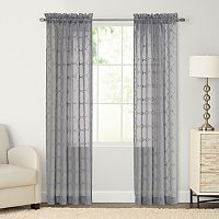 SONOMA Goods for Life™ Milner Embroidered Sheer Curtain