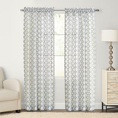 SONOMA Goods for Life™ Velasco Sheer Window Curtain