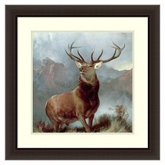 Amanti Art Monarch of the Glen Framed Wall Art