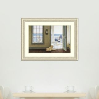 Amanti Art Looking Over the Sea Framed Wall Art