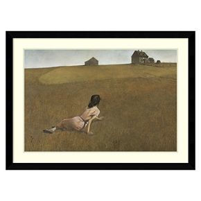 Amanti Art Christina's World Framed Wall Art