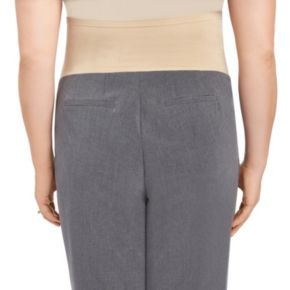Plus Size Maternity Oh Baby by Motherhood? Secret Fit Belly? Slim Bootcut Pants