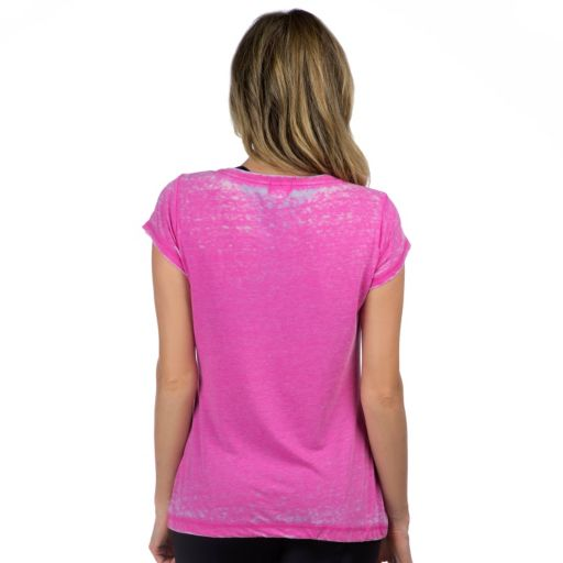 "Women's PL Movement by Pink Lotus ""Strong"" Drawstring Yoga Tee"