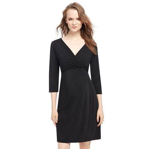 403bb536c5 Maternity Oh Baby by Motherhood™ Faux-Wrap Dress