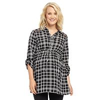Maternity Oh Baby by Motherhood™ Roll-Cuff Tunic