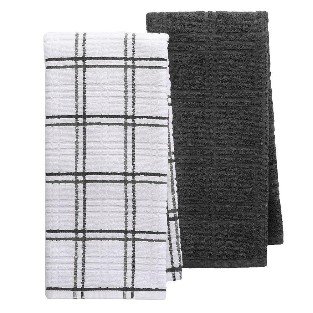 Food Network™ Plaid Kitchen Towel 2-pack