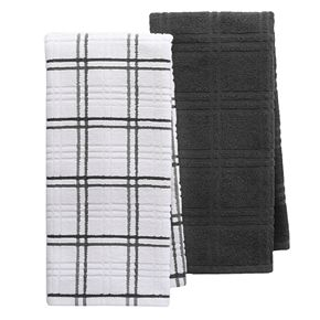 Food Network? Plaid Kitchen Towel 2-pack