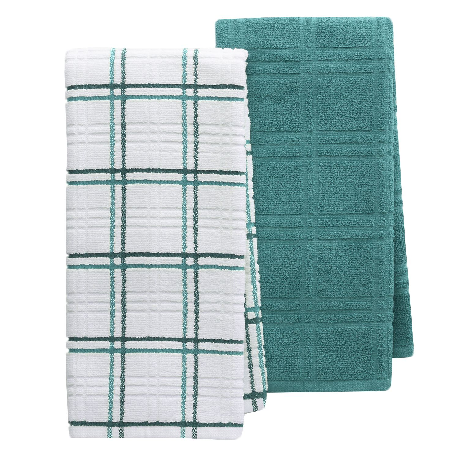 Food Network™ Plaid Kitchen Towel 2 Pack