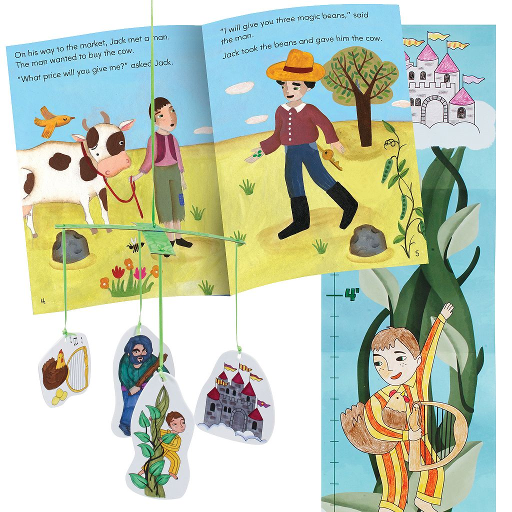 Educational Insights Once Upon a Craft Jack and the Beanstalk Storybook