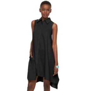Women's Sharagano A-Line Shirtdress