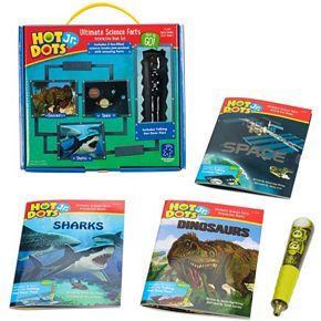 Educational Insights Hot Dots Jr. Ultimate Science Facts Interactive Books & Pen Set