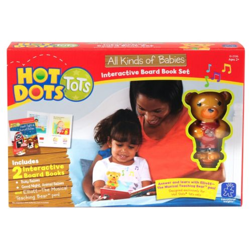 Educational Insights Hot Dots Tots We Love Babies Set