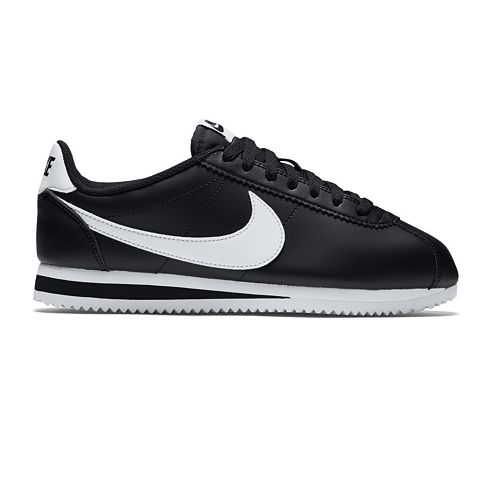 los angeles 32034 336cf Nike Classic Cortez Womens Leather Sneakers