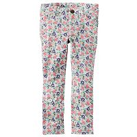 Baby Girl Carter's Floral French Terry Jeggings
