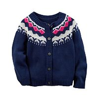 Baby Girl Carter's Fairisle Cardigan