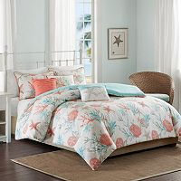 Madison Park Pacific Grove 6 pc Duvet Cover Set
