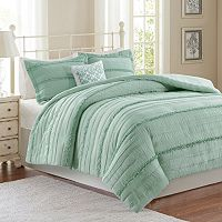 Madison Park Isabella 2-in-1 4-piece Duvet Cover Set