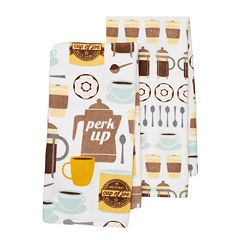 Food Network™ 'Perk Up' Kitchen Towel 2-pack