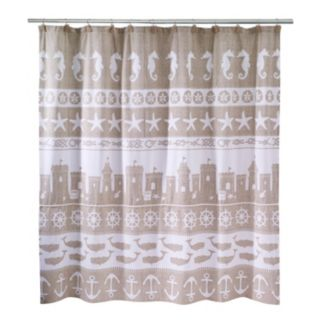 Avanti Sea & Sand Shower Curtain