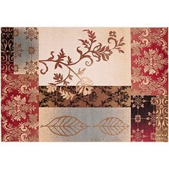 Decor 140 Celba Floral Patchwork Rug