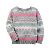 Baby Girl Carter's Fairisle Sweater