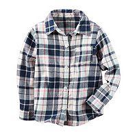 Baby Girl Carter's Plaid Shirt