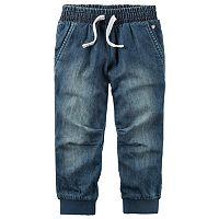 Baby Girl Carter's Denim Jogger Pants