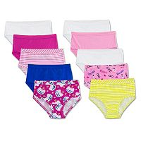 Girls 4-14 Fruit of the Loom 9-pack + 1 Bonus Briefs