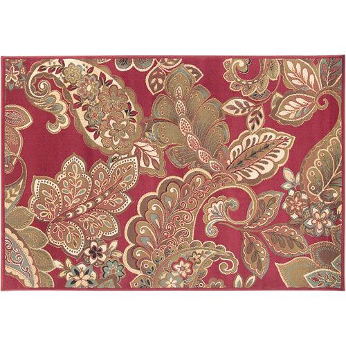 Decor 140 cerastium floral paisley rug for Decor 140 rugs