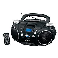 Jensen Portable AM / FM Stereo CD Player