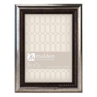 Malden Classics Two Tone Bronze Finish Wave Frame