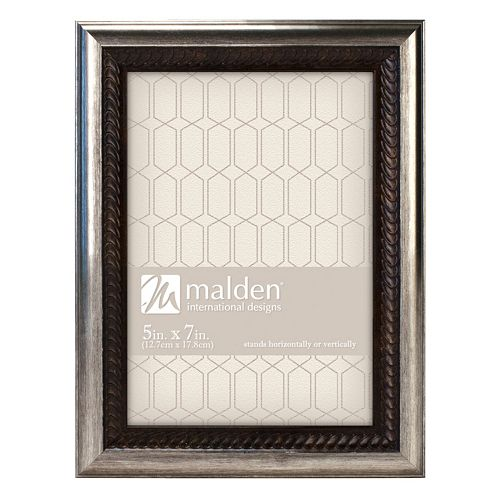 Malden Classics Two Tone Bronze Finish Wave Frame