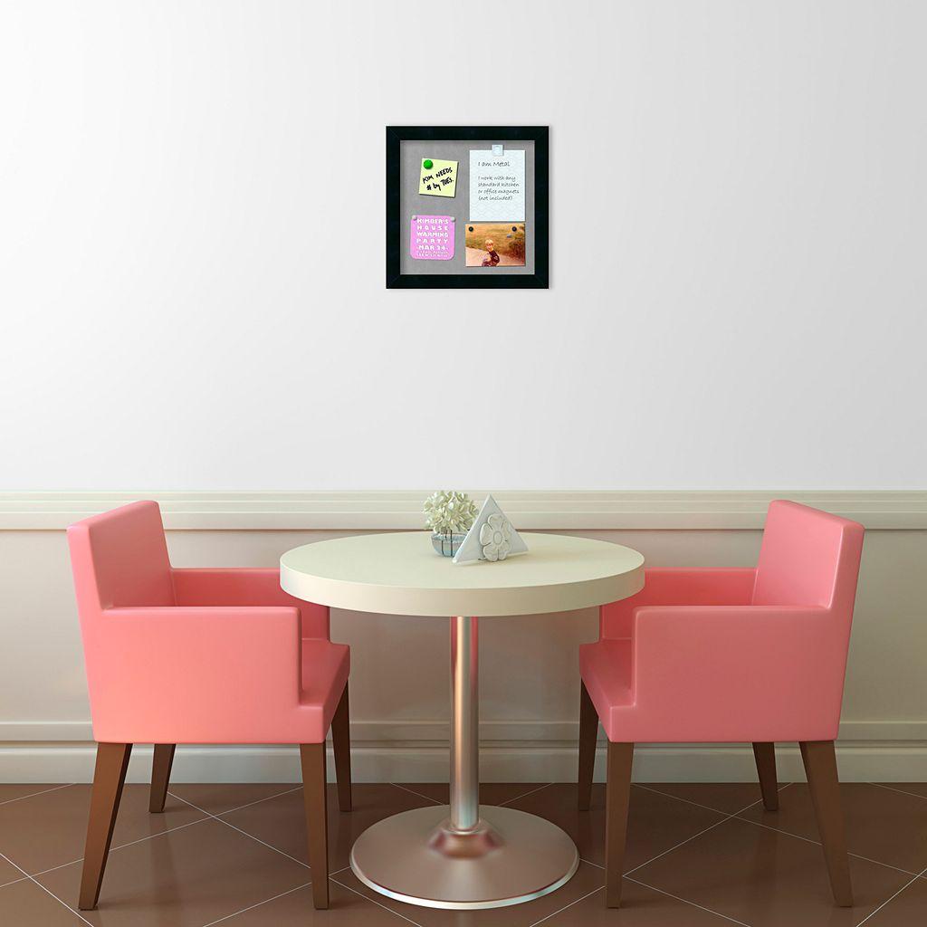 Amanti Art Mezzanotte Small Magnetic Bulletin Board