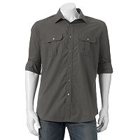 Men's Apt. 9 Modern-Fit Roll-Tab Button-Down Shirt