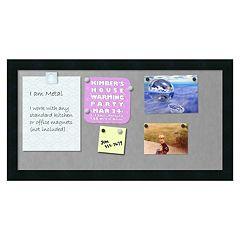 Amanti Art Mezzanotte Medium Magnetic Bulletin Board
