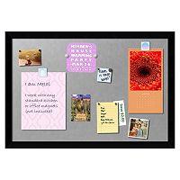 Amanti Art Mezzanotte Large Magnetic Bulletin Board