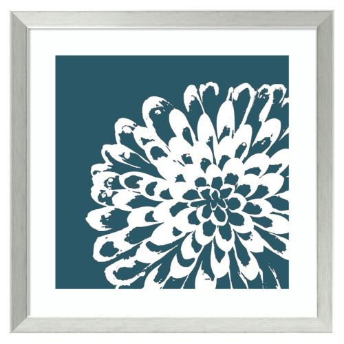 Amanti Art Graphic Flower Framed Wall Art