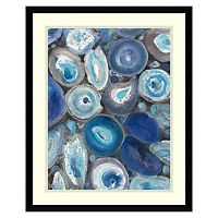 Amanti Art Stone Circle II Framed Wall Art