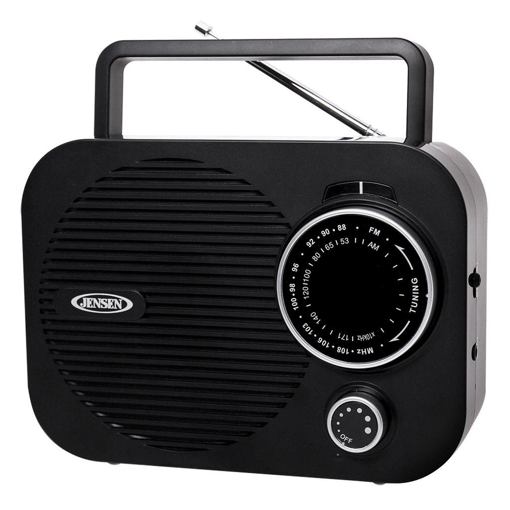 Jensen Portable AM / FM Radio
