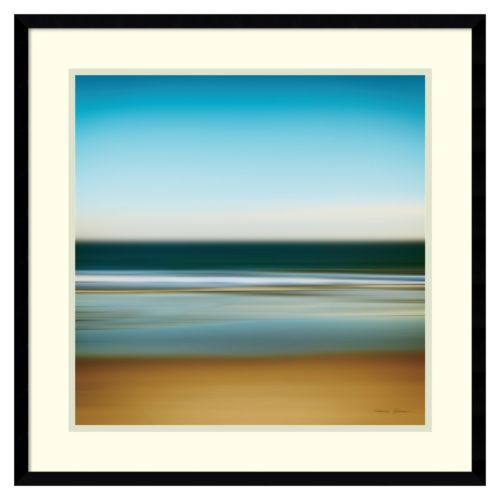 Amanti Art Sea Stripes I Framed Wall Art