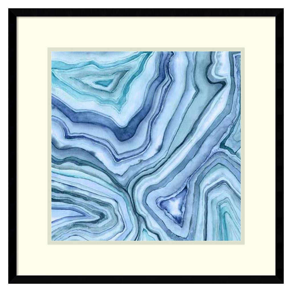 Amanti Art Custom Agate Abstract II Framed Wall Art