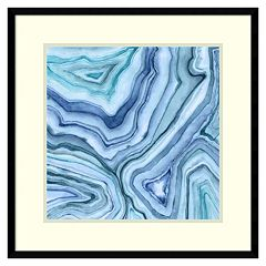 Amanti Art Custom Agate Abstract II Framed Wall Art