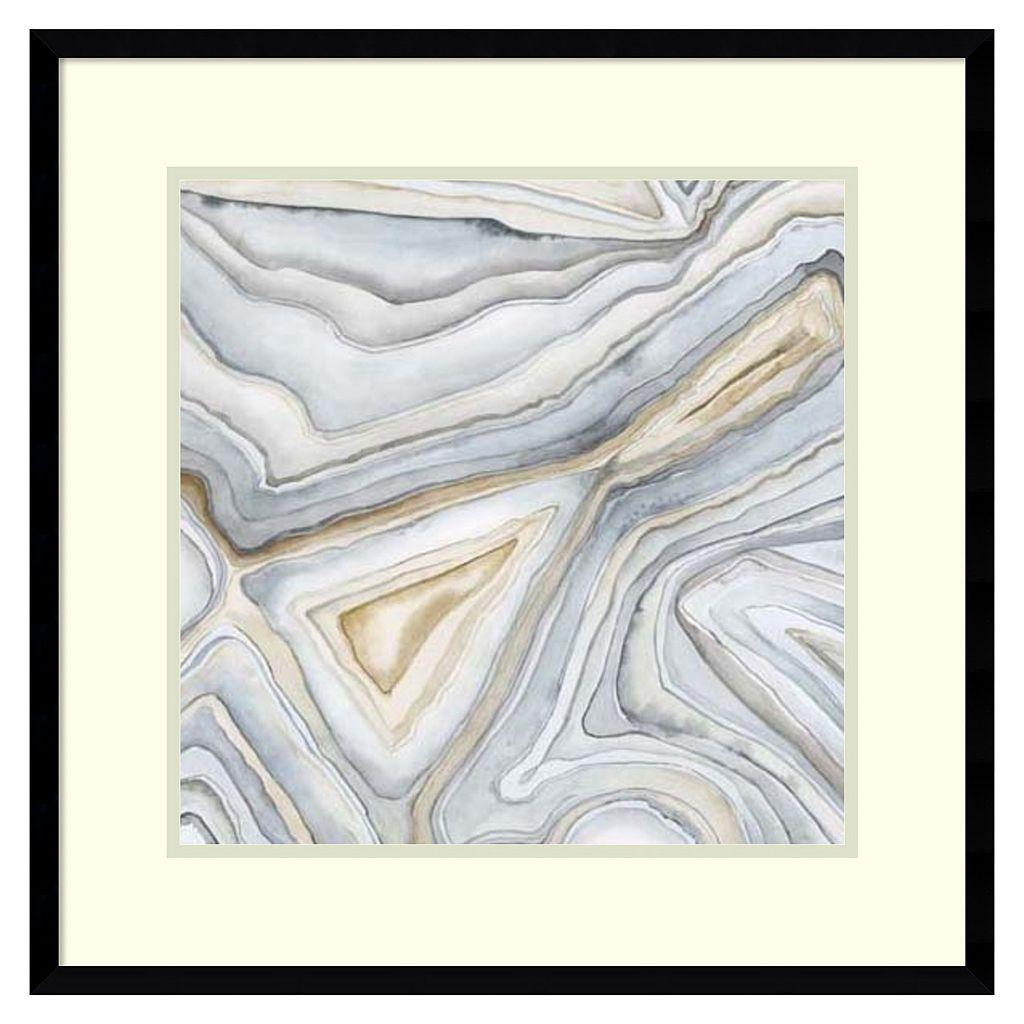 Amanti Art Agate Abstract I Framed Wall Art