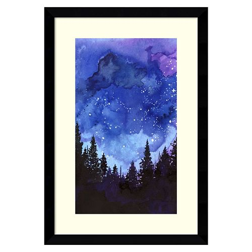 Amanti Art Let's Go See The Stars Framed Wall Art