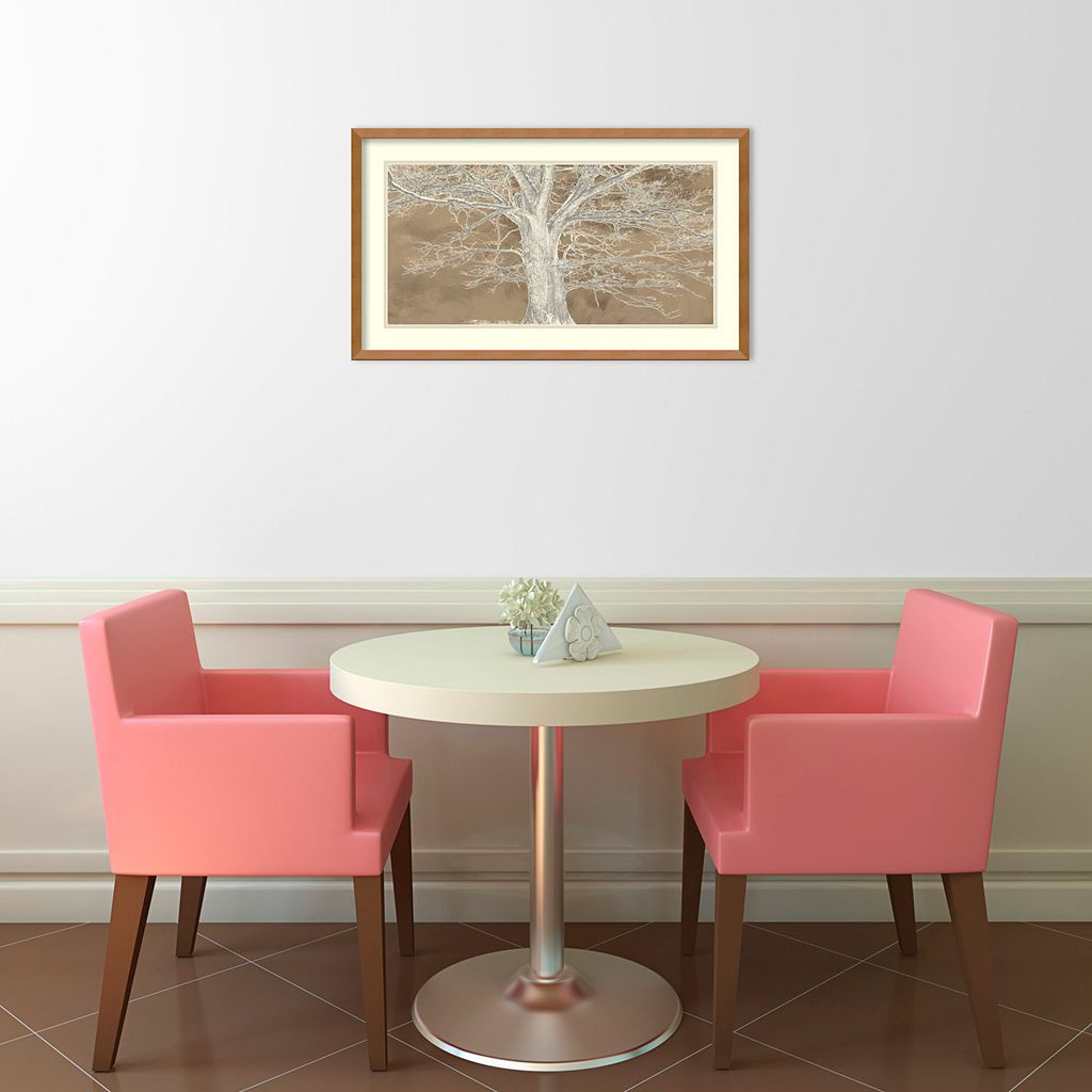 Amanti Art White Oak Framed Wall Art